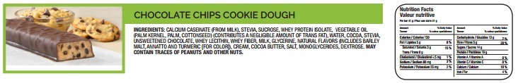 4 - Chocolate Chip Cookie Dough